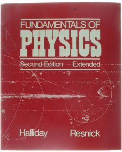 Fundamentals of Physics - Second Edition - Extended [Paperback] David Halliday; Robert Resnick [1981] 9780471060208