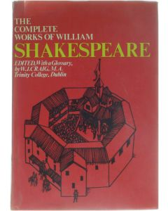 The Complete Works of William Shakespeare - Edited, With a Glossary [Hardcover] William Shakespeare; W.J. Craig [1993] 9780853760344