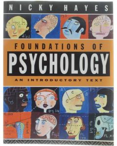 Foundations of Psychology - An Introductory Text [Paperback] Nicky Hayes [1994] 9780415015615