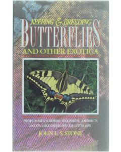 Keeping and breeding Butterflies and other exotica [Paperback] John L.S. Stone [1992] 9780713722932