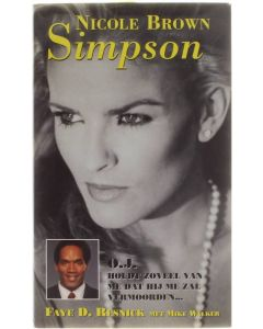 Nicole Brown Simpson [Hardcover] Faye Resnick; Mike Walker [1994] 9789041000903