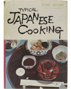 Typical Japanese Cooking [Hardcover] Tomi Egami [1959]