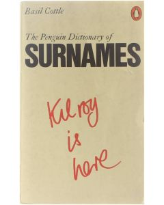 The Penguin Dictionary of Surnames [Paperback] Basil Cottle [1978] 9780140510324
