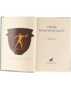 Greek homosexuality [Hardcover] Kenneth James Dover [1979] 9780715611111