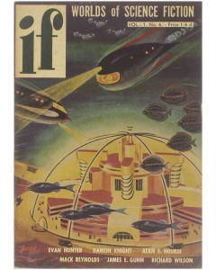 if - Worlds of Science Fiction - Vol 1 no 6 [Paperback] ed: James L. Quinn [1953]
