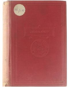 Zoology [Hardcover] T. Jeffery Parker; William A. Haswell [1899]