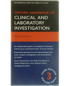 Oxford Handbook of Clinical and Laboratory Investigation [Paperback] ed : Drew Provan [2010] 9780199233717