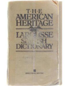 The American Heritage Larousse Spanish Dictionary [Paperback] Collective [1987] 9780425103975