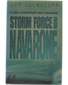 Storm Force from Navarone  [Hardcover] Sam Llewellyn  [1996] 9780002252966