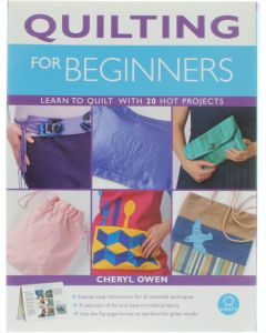 Quilting for Beginners [Paperback] Cheryl Owen [2007] 9781904760535