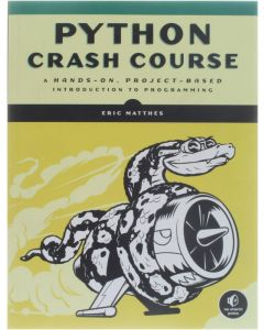 Python Crash Course [Paperback] Eric Matthes [2016] 9781593276034
