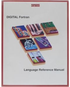 Digital Fortran - Language Reference Manual [Paperback] [1997]