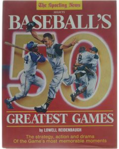 Baseball's Greatest Games [Hardcover] Lowell Reidenbaugh [1986] 9780892042241