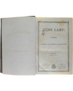 The Lamp : A Popular Journal of General Literature - New Series January-June 1871 [Hardcover] [1871]
