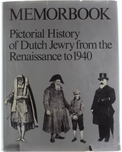 Memorbook: History of Dutch Jewry from the Renaissance to 1940 [Hardcover] Gans, Mozes Heiman [1977] 9789024642502