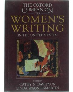 The Oxford Companion to Women's Writing in the United States [Hardcover] Cathy N. Davidson [1995] 9780195066081