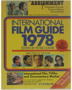 International Film Guide 1978 [Paperback] Editor-Peter Cowie [1977]
