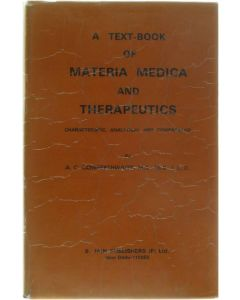 A text-book of materia medica and therapeutics [Hardcover] Cowperthwaite [1989]