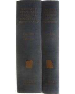 Harrap's Standard French and English Dictionary (2 volumes) [Hardcover] J.E. Mansion [1960]