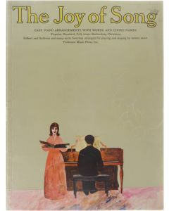 The Joy of Songs: easy piano arrangements with words and chord names [Paperback] 9780256800340