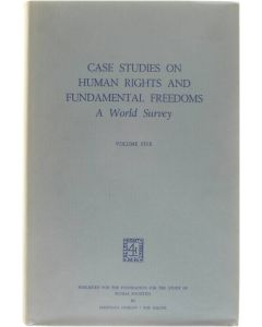 Case studies on human rights and fundamental freedoms (Volume 5) [Hardcover] Veenhoven Willem A. - Crum Ewing Winifred [1976] 9789024719570