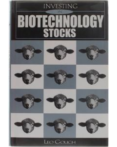 Investing in Biotechnology Stocks [Hardcover] Leo Gough [2001] 9780471479147