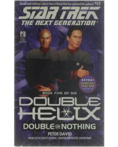 Double or Nothing - Star Trek the Next Generation [Paperback] Peter David [1999] 9780671034788