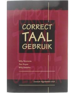 Correct taalgebruik [Paperback] Willy Penninckx; Paul Buyse; Willy Smedts [2001] 9789067682473