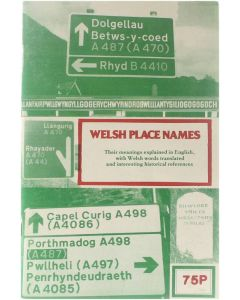 Welsh Place Names [Paperback] Collectief [1988] 9781871083101