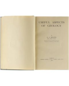 Useful aspects of geology [Hardcover] S.J. Shand [1925]