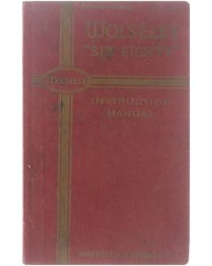 The Wolseley Six-Eighty Instruction Manual [Hardcover] Onbekend