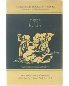 The Soncino Books of the Bible - Isaiah Dr. I.W. Slotki [1976]
