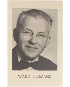 Ward Hermans [Paperback] Dr. Guido Provoost [1977]